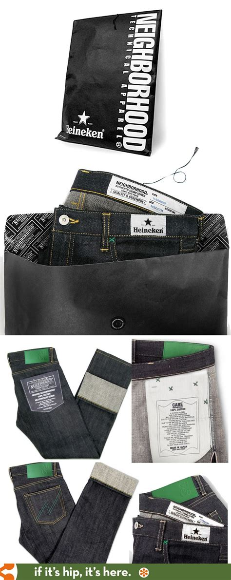design label jeans very cool packaging and label designs for the heineken x