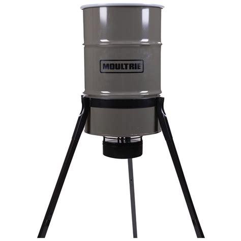 moultrie 55 gallon pro magnum tripod feeder 665302