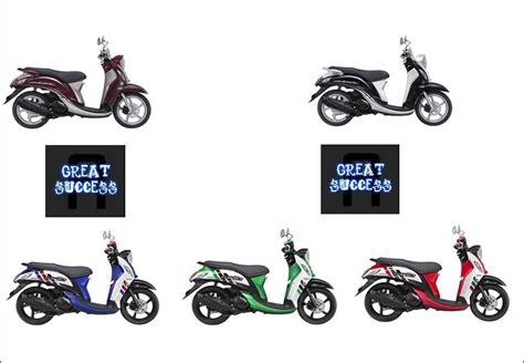 Fuel Meter Yamaha Fino yamaha mio fino injeksi hadir 5 warna harga naik rp 500