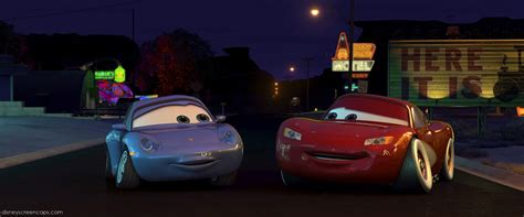 cars sally and lightning mcqueen kiss disney cars lightning mcqueen and sally www pixshark com
