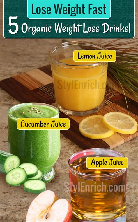 Lose Weight Fast With 5 Safe Healthy Weight Loss Drinks