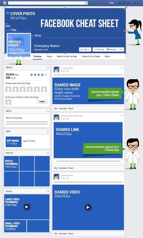 facebook update layout van pagina s op desktop facebook afmetingen 2017 social media handleiding