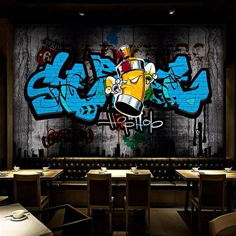 details sur  street art graffiti hip hop mural papier