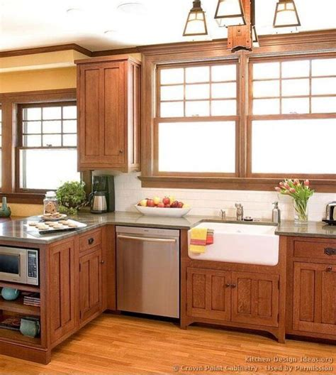 mission style kitchen cabinets mission style kitchen mission style pinterest