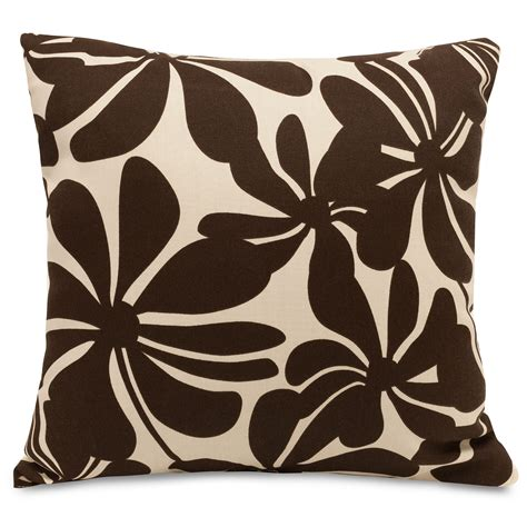 What Color Pillows For A Brown by Majestic Home 20 Quot Outdoor Pillow Patio Furniture