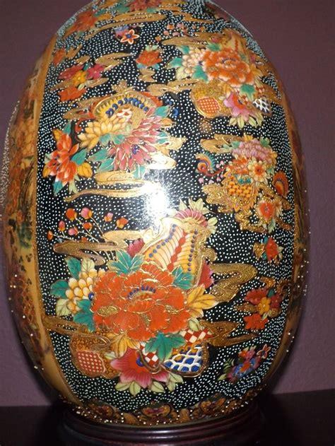 satsuma decorative eggs vintage antique 1940s royal satsuma japanese ceramic egg