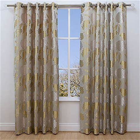 Where To Buy 90 Inch Curtains Scatter Box Celeste Eyelet Curtains Chagne 66 X 90