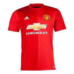 home shirts adidas adidas manchester united home shirt 2016 2017