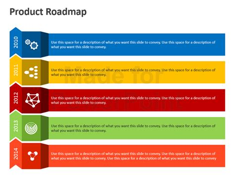 process road map product roadmap powerpoint template editable ppt