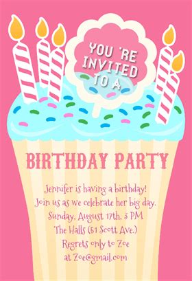 free printable birthday party invitations theruntime com marvelous free printable kids birthday party invitations