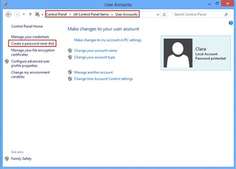 reset windows 8 password without disk password recovery ways tips password reset disk creation