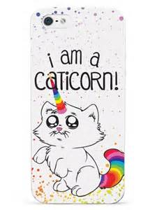 Unicorn Y0701 Iphone 5 5s i am a caticorn cat unicorn for iphone 5 5s se