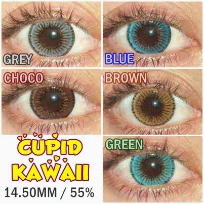 Softlens Kawaii Cupid Brown katalog belanja
