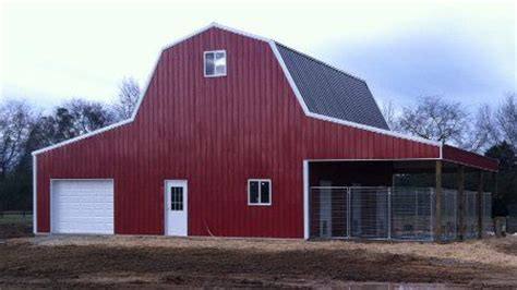 gambrel pole barn gambrel pole barn kits woodworking projects plans