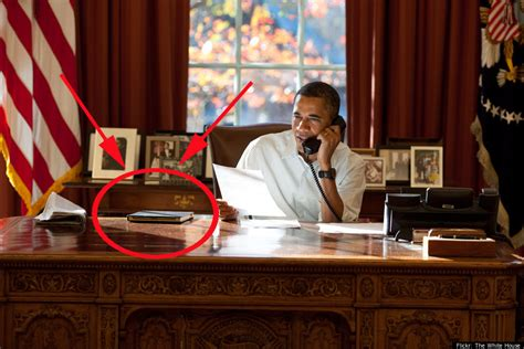 obama at desk barack obama in dodocase photo huffpost