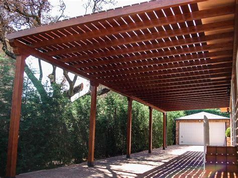 cobertizos metal madera p 233 rgolas de madera adosadas tarima de exterior tarima