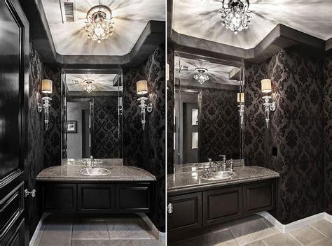 mobili bagno neri bagno bianco e nero 20 idee di arredo originali