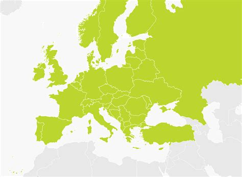 europe map map map of europe cer tomtom