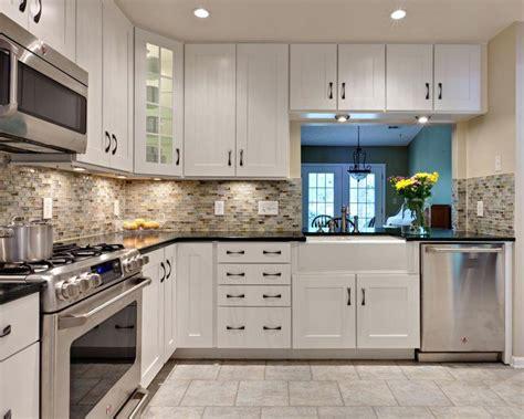 black and white tile kitchen backsplash tile design ideas