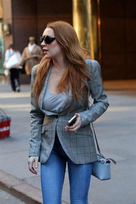 Lindsay Lohan Out by Lindsay Lohan Out In New York 04 15 2016 Hawtcelebs