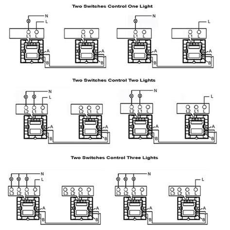 4 gang 1 way switch wiring diagram comprandofacil co
