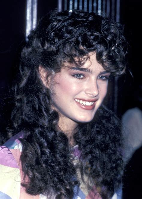 stars with perms 10 awesomely awful 80s perms vh1 brooke shields