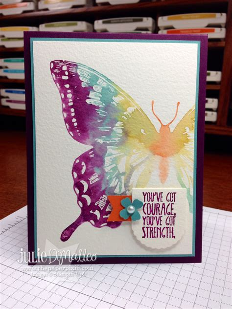 2014 2016 in color stin write markers by stin up watercolor swallowtail card the paper pixie