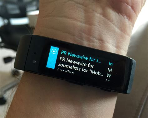 First look at the Microsoft Band: A health tracker on steroids