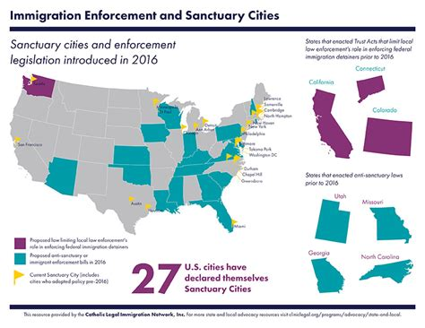 united states map of sanctuary cities united states map of sanctuary cities 28 images map
