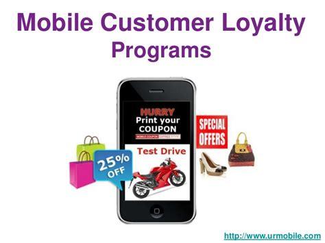 mobile loyalty programs mobile customer loyalty programs