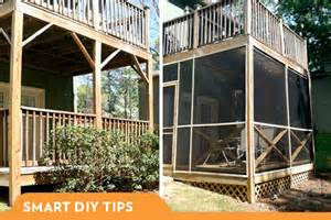 building a screened in porch diy screened in porch