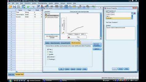 tutorial spss 19 youtube tutorial 3 geneating line graphs in spss youtube