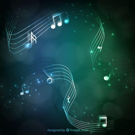 imagenes musicales descargar groene muziek achtergrond vector gratis download
