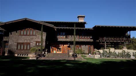 celebrating the historic gamble house in pasadena la times
