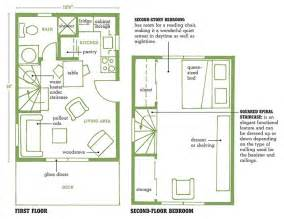 loft cabin floor plans blueprints for tiny cabins with lofts studio design