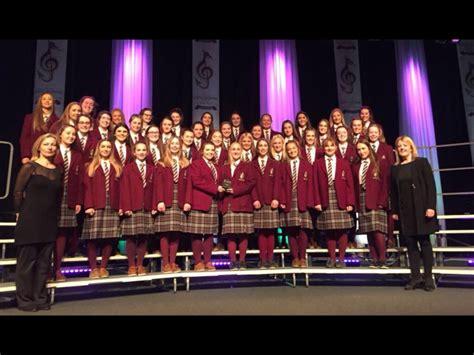 choir section sacred heart school tullamore senior choir win youth