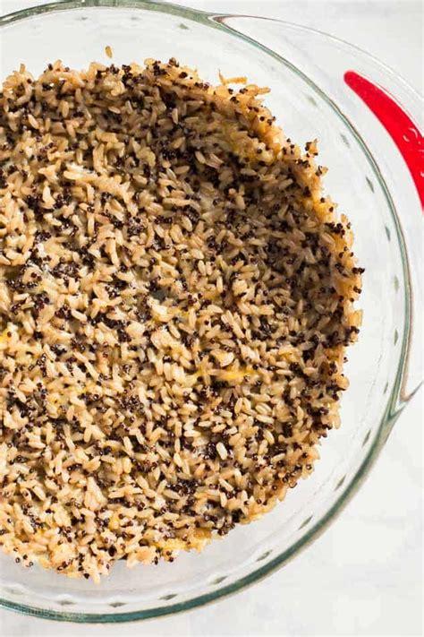 whole grain quiche crust recipe chorizo and cheddar quiche with quinoa crust plating pixels