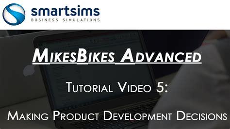 tutorial product design business simulation tutorial videos
