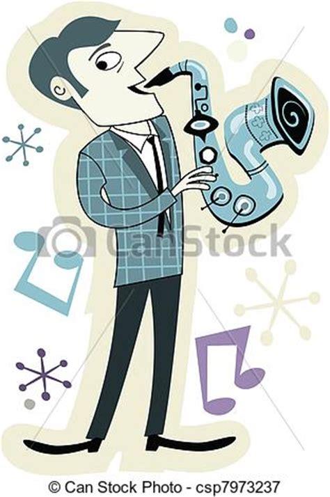 50s cartoons illustrations vector stock images 8946 vectors illustration of retro style sax player cartoon
