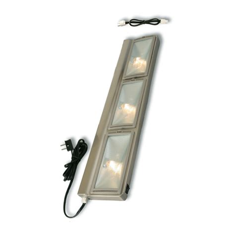 plug in under cabinet lighting shop utilitech 30 in hardwired or plug in under cabinet