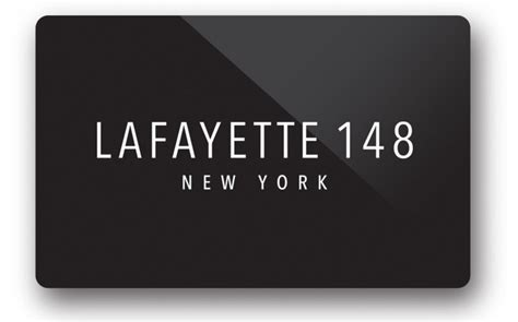 Ny And Company E Gift Card - e gift card lafayette 148 new york