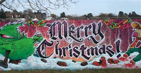 graffiti inspiration  christmas graffiti art