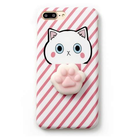 Squishy Cat Claw For Iphone 6 6s Omscr7bl squishy cat claw for iphone 6 plus 6s plus blue jakartanotebook