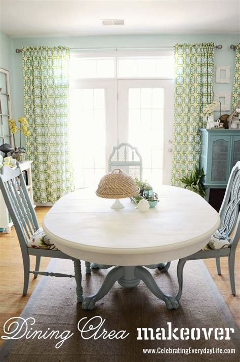Dining Table Makeover Dining Room Table And Chairs Makeover With Sloan Chalk Paint