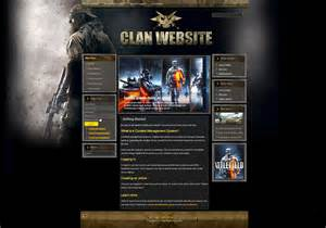 Gaming Templates by Gaming Clan Joomla Template