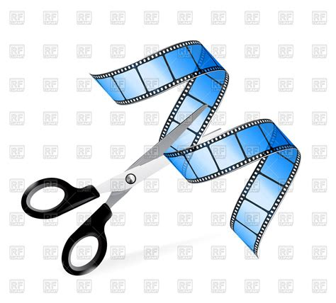 free editing doodle scissors and as editing concept vector