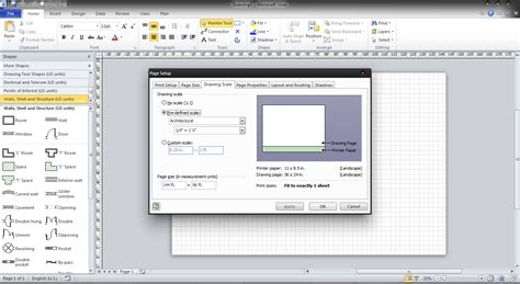 visio floor plan scale speedy pc support changing the scale in visio 2010