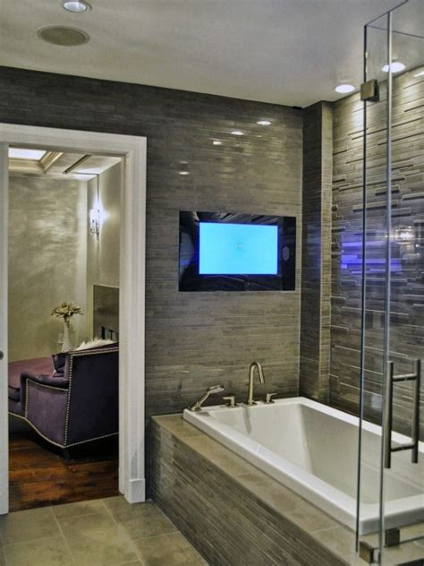 Bathroom Tv Ideas by 1000 Images About Galley Bathrooms On Pinterest Toilets