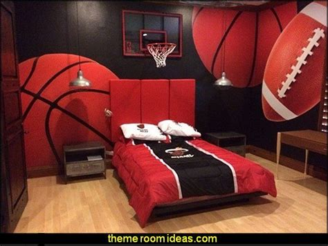 sports themed bedroom decor sports bedrooms all sports theme bedroom wall murals