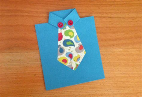 Diy Handmade Crafts - tie cards for s day modernmom